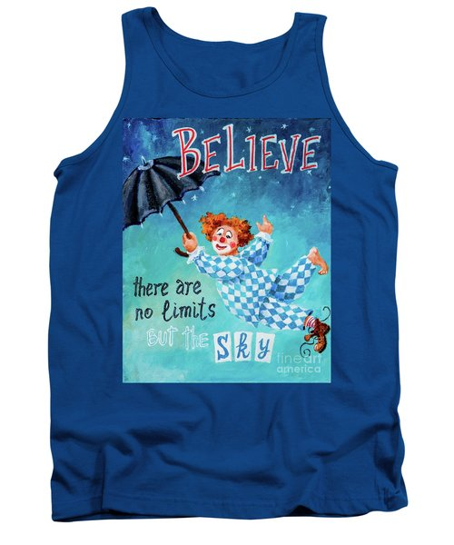 Tank Top featuring the painting Believe by Igor Postash