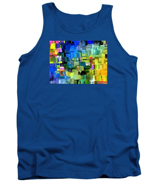 Tank Top featuring the painting Believe What You Say by Holley Jacobs