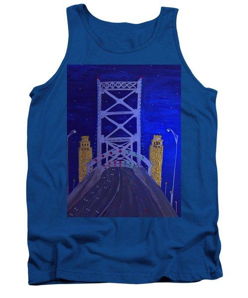 Ben Franklin Bridge Tank Top