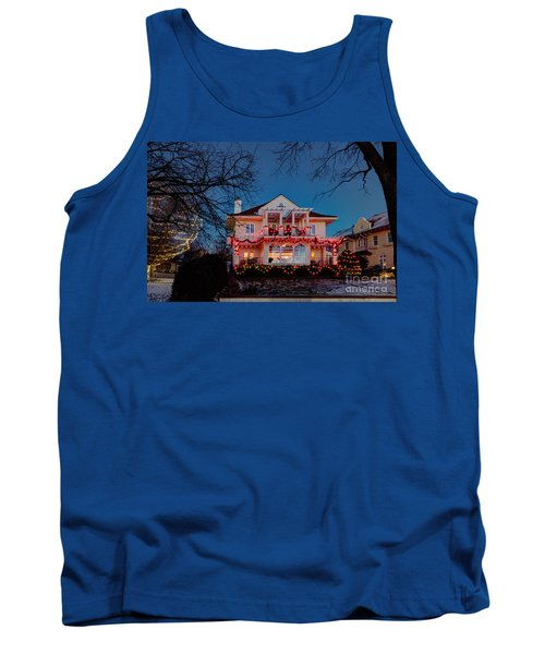 Best Christmas Lights Lake Of The Isles Minneapolis Tank Top