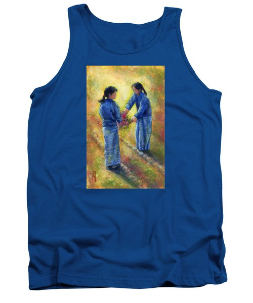 Best Friends Tank Top by Retta Stephenson