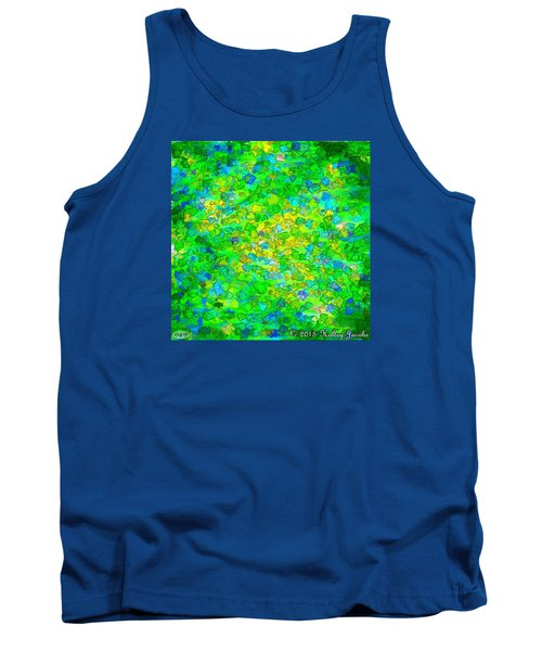 Tank Top featuring the painting Better Not Touch by Holley Jacobs