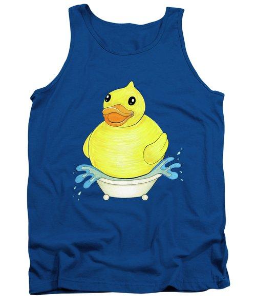 Big Happy Rubber Duck Tank Top