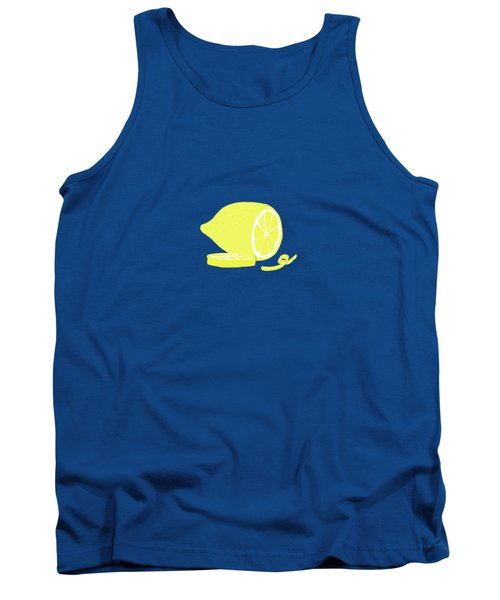 Big Lemon Flavor Tank Top by Little Bunny Sunshine