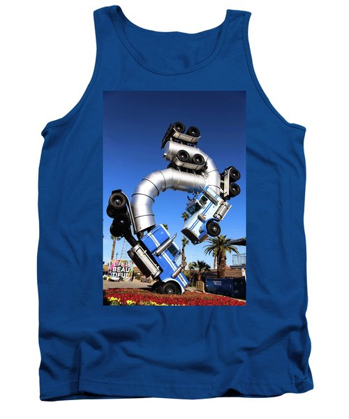 Big Rig Jig Balancing In Vegas Tank Top