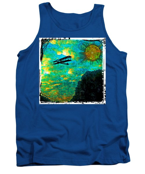 Biplane Tank Top by Iowan Stone-Flowers