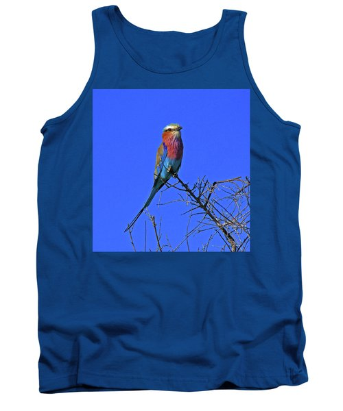 Bird - Lilac-breasted Roller Tank Top