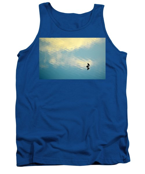Bird Reflection Tank Top by AJ Schibig
