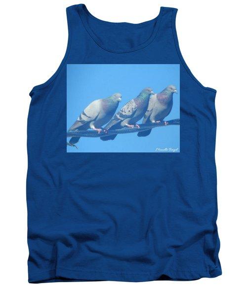 Bird Trio Tank Top