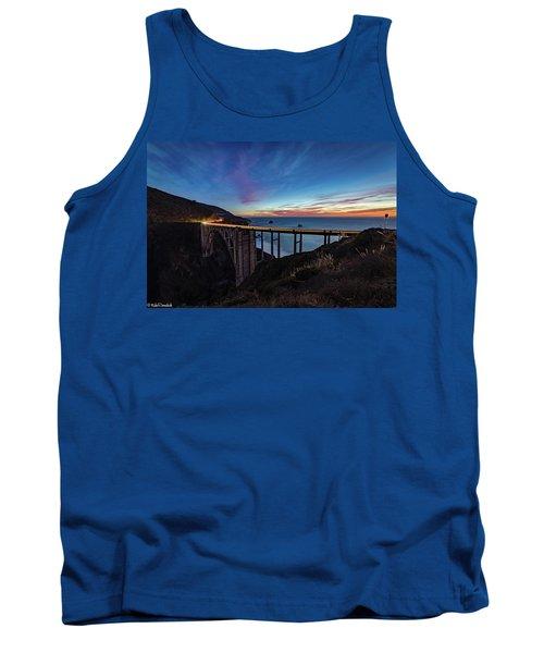 Bixby Bridge Sunset Tank Top
