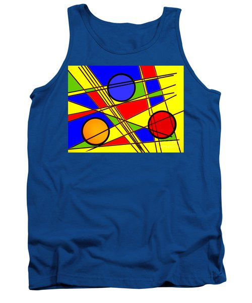Tank Top featuring the photograph Blocks Of Color by Trena Mara