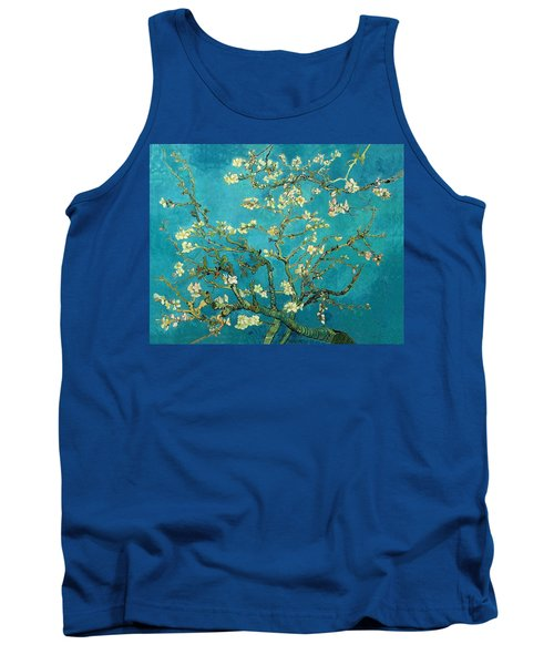 Tank Top featuring the painting Blossoming Almond Tree by Van Gogh
