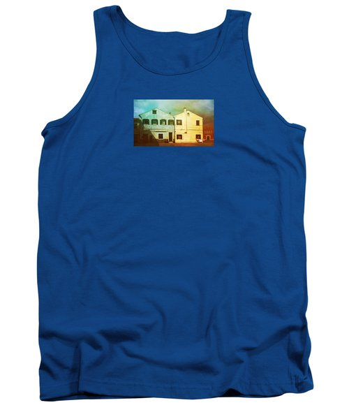 Tank Top featuring the photograph Blowing In The Wind by Anne Kotan