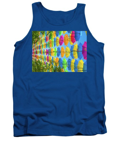 Blowing In The Wind Tank Top