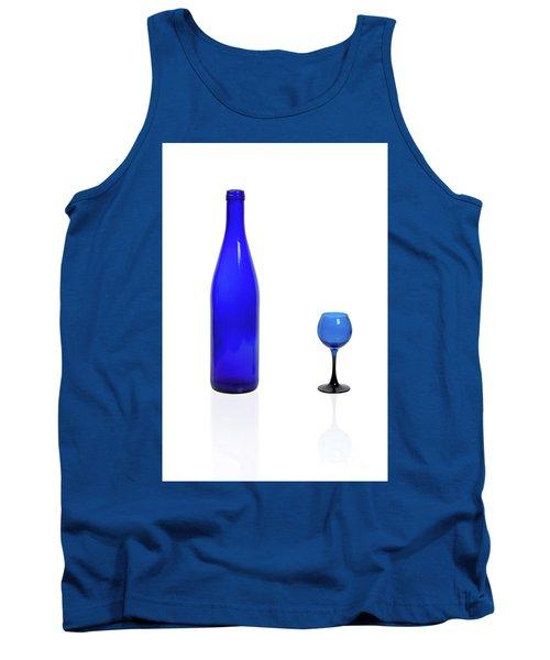 Blue  #2438 Tank Top