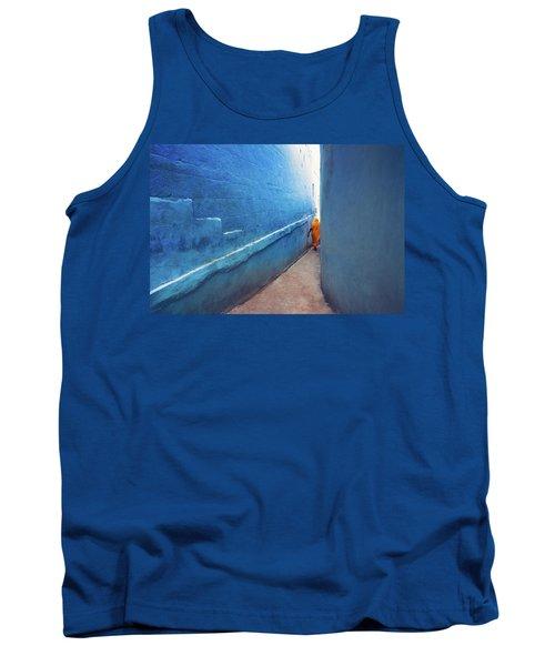 Blue Alleyway Tank Top