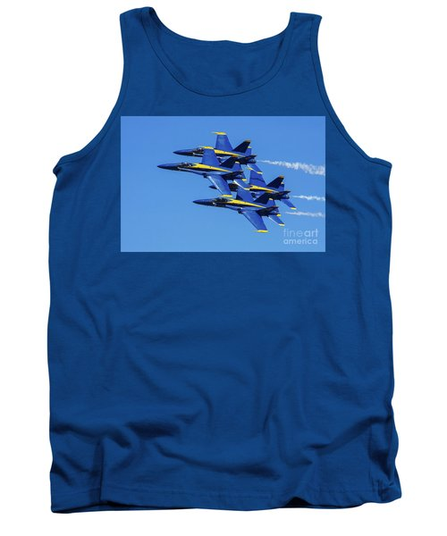 Blue Angels Very Close Formation 1 Tank Top
