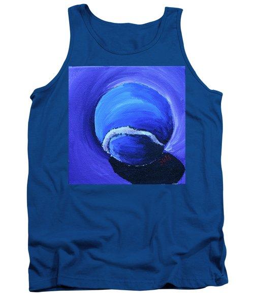 Blue Ball Tank Top