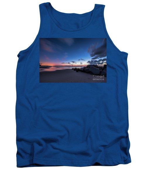 Blue Betsy Sunrise Tank Top by Robert Loe