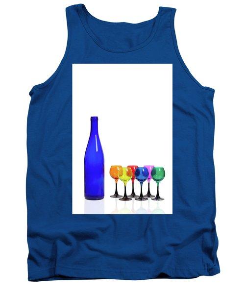 Blue Bottle #2429 Tank Top