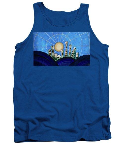 Blue City  Tank Top