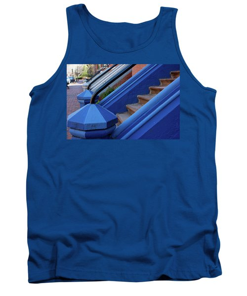Blue Entry Tank Top by Jim Gillen