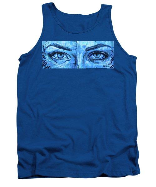 Blue Eyes Tank Top