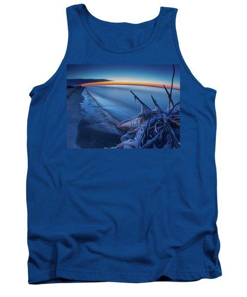 Blue Hour Fisheye Tank Top