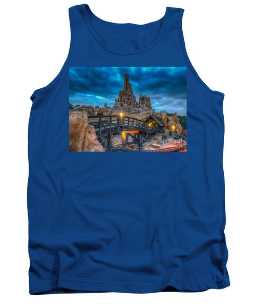Blue Hour Over Big Thunder Mountain Tank Top