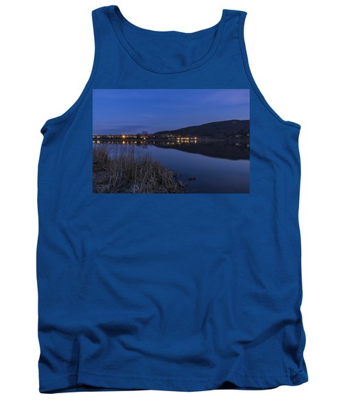 Blue Hour Retreat Meadows Tank Top by Tom Singleton