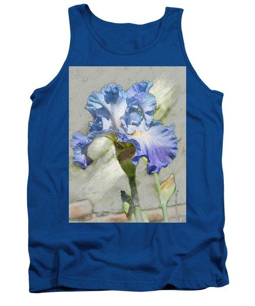 Blue Iris 2 Tank Top
