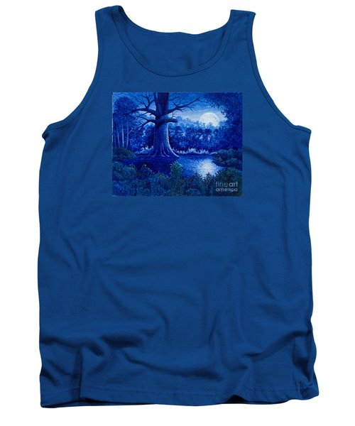 Blue Moon Tank Top by Michael Frank