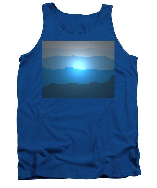 Blue Mountain Sun Tank Top