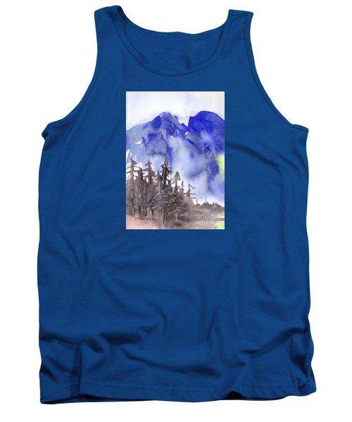 Blue Mountains Tank Top by Yolanda Koh