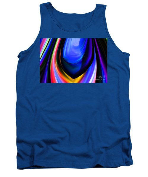 Blue Orb Tank Top
