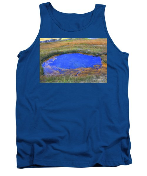 Blue Pool Tank Top
