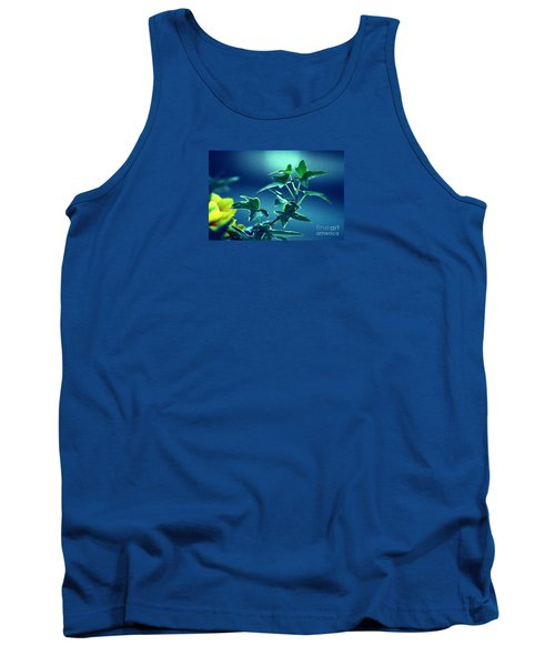 Tank Top featuring the photograph Blue Power  by Susanne Van Hulst
