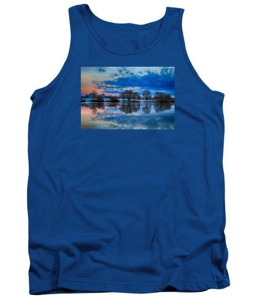 Blue Sky Morning Tank Top