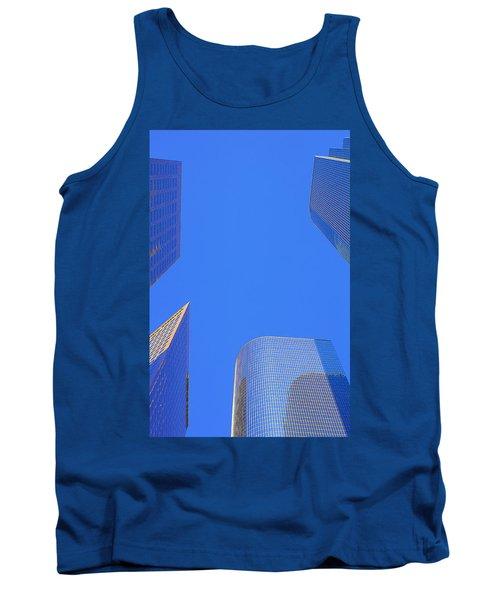 Blue Sky Over Bunker Hill Tank Top