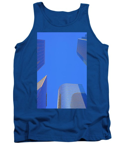 Blue Sky Over Bunker Hill Tank Top