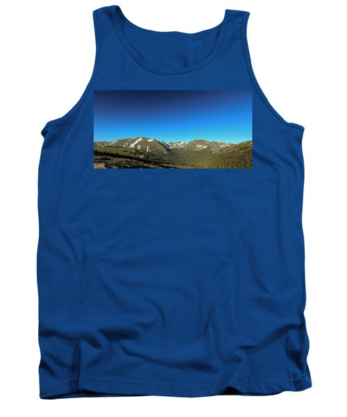 Blue Skys Over The Rockies Tank Top