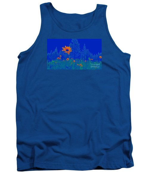 Blue Summer Tank Top