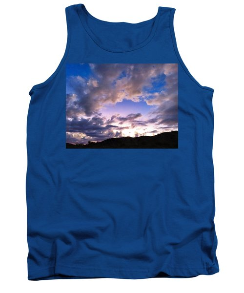 Blue Sunset Tank Top