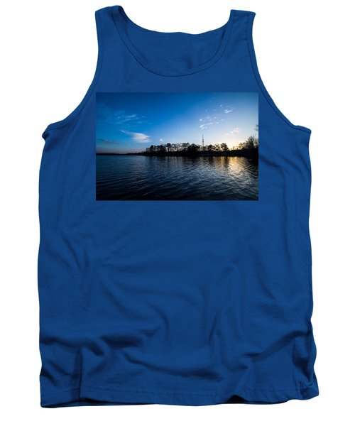 Blue Water Tank Top