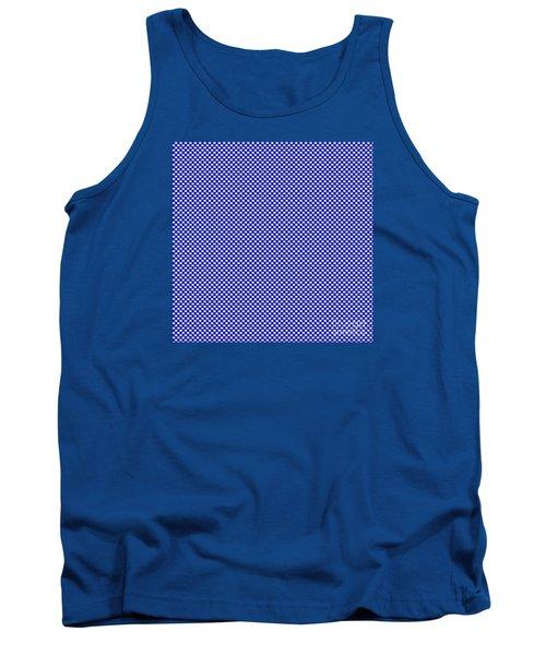 Blue Weave Tank Top