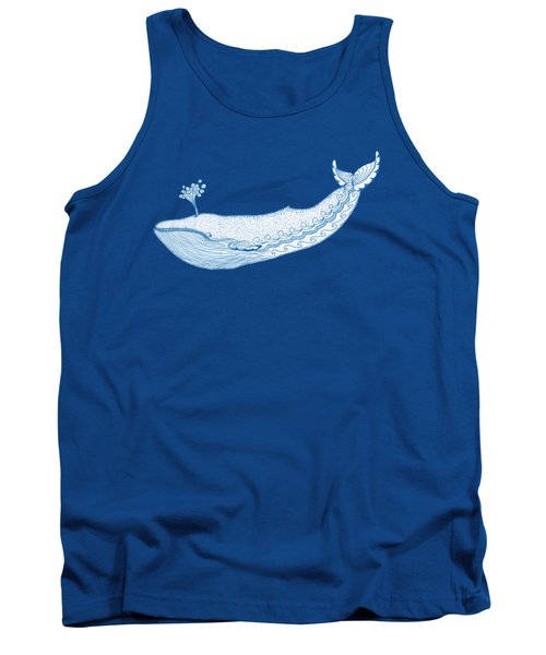 Blue Whale Tank Top