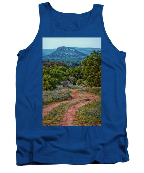 Bluebonnet Road Tank Top
