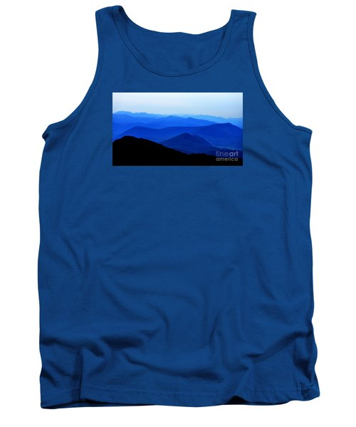 Blueridge Mountains - Parkway View Tank Top by Scott Cameron