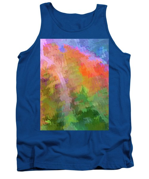 Tank Top featuring the photograph Blurry Painting by Wendy McKennon
