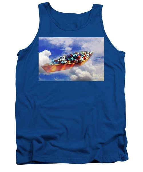 Boat In The Clouds Tank Top